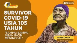 Kisah Nenek Survivor COVID-19 Usia 105 Tahun