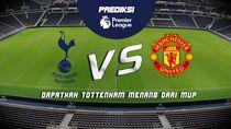 Prediksi: Pertandingan Liga Inggris, Tottenham VS Manchester United