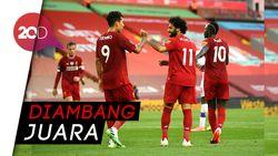 Liverpool Cukur Crystal Palace 4 Gol Tanpa Balas
