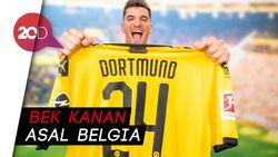 Dortmund Resmi Datangkan Thomas Meunier