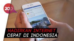 Facebook: Literasi Internet Sudah Baik, Hanya Aksesnya Kurang Cepat