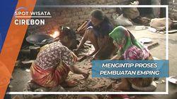 Mengintip Proses Pembuatan Emping, Cirebon