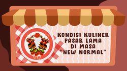 Cicip Sate Ayam H Ishak di Pasar Lama Tangerang yang Legendaris