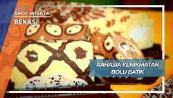 Rahasia Kenikmatan Bolu Gulung Batik Bekasi