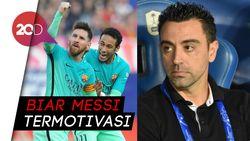 Xavi Sampai Neymar Bisa Buat Messi Tetap Bertahan di Barca