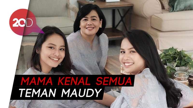 Ibunda Maudy Ayunda Buka Suara Usai Anaknya Bertengkar di Live Instagram