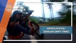 Drift Trike, Uji Nyali Balap Sepeda Roda Tiga Yogyakarta