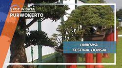 Meriahnya Festival Bonsai, Purwokerto