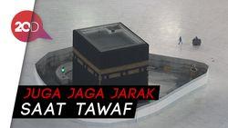 Aturan Haji 2020, Jemaah Dilarang Sentuh Kabah