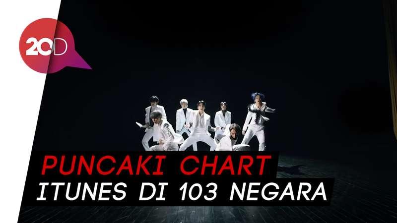 BTS Pecahkan Rekor 5 Tahun Adele Lewat Black Swan
