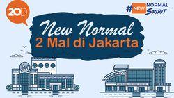 Penampakan New Normal di 2 Mal Besar Jakarta