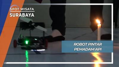 Lomba Tiup Lilin Robot, Surabaya