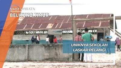 Sekolah Laskar Pelangi, Belitung Timur