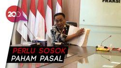 PDIP Tunjuk M Nurdin Pimpin Baleg DPR, Ini Alasannya