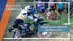 Jelajah dengan Motor Matik, Grobogan