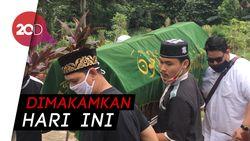 Ketegaran Keluarga saat Pemakaman Papa T Bob