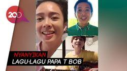 Melihat Lagi Video Reuni Trio Kwek Kwek untuk Hibur Papa T Bob