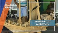 Miniatur Perahu Limbah Kayu Mulyoharjo Jepara