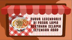 Bubur Ko Iyo, Setengah Abad di Pasar Lama Tangerang