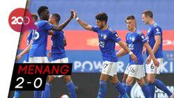 Leicester Raih Poin Penuh Saat Jamu Sheffield United