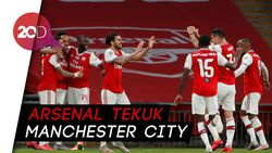 Aubameyang Bobol Gawang City 2 Kali, Arsenal ke Final Piala FA