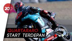 Quartararo Jadi yang Tercepat di Kualifikasi MotoGP Spanyol