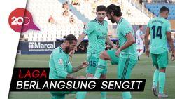 Real Madrid Diimbangi Leganes 2-2