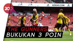 Drama 5 Gol di Kemenangan Arsenal atas Watford