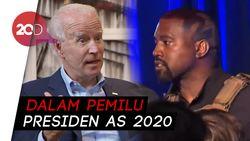 Kanye West Yakin Mampu Kalahkan Joe Biden