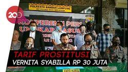 Tarif Prostitusi Vernita Syabilla Rp 30 Juta