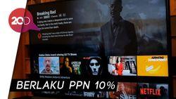 Pajak Digital Diberlakukan, Ini Tarif Baru Netflix