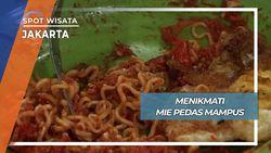 Kuliner Ekstrim, Mie Pedas Mampus Berisi Seratus Cabai Jakarta