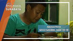 Kuliner Nikmat Sego Sambel Mak Ye-ye Wonokromo Surabaya