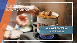 Kuliner Ekstrim, Sate Tupai Tawangmangu Karanganyar