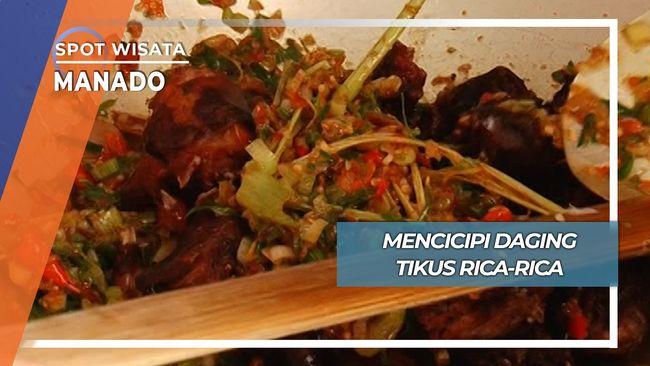 Kuliner Ekstrim, Tikus Rica Rica Manado