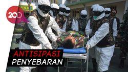 Prajurit TNI Dilatih Protokol Kesehatan Covid-19