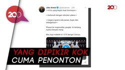 Sentilan Joko Anwar soal Video Anji-Hadi Pranoto