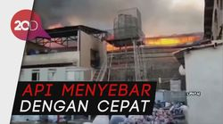 Kebakaran Melanda Kawasan Industri di Iran
