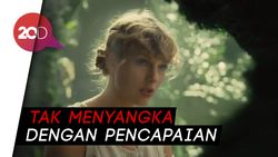 Cardigan Milik Taylor Swift Debut di Puncak #HOT100 Billboard