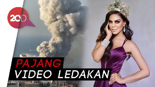 Duka Miss Grand Lebanon Stephanie Terkait Ledakan Beirut