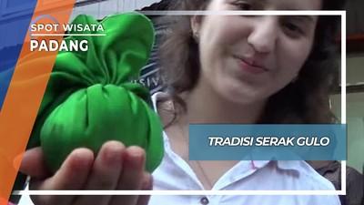 Tradisi Serak Gulo Pasar Batipuh Padang Selatan