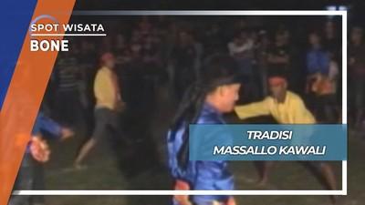 Baku Tikam ala Tradisi Massallo Kawali di Manurunge Tanete Bone
