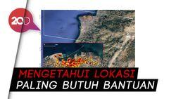 Peta Kerusakan Akibat Ledakan Lebanon yang Dirilis NASA