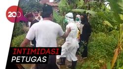 Warga di Bekasi Marah dan Tolak Proses Pemakaman Jenazah Diduga Covid