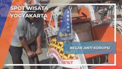 Becak Anti Korupsi, Yogyakarta