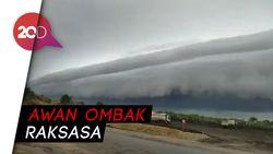 Awan Tsunami Muncul di Langit Meulaboh
