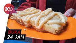 Kue Pancong Rawa Belong, Murah Meriah dan Bikin Kenyang