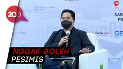 Jokowi Targetkan Ekonomi Tumbuh 5,5%, Erick: Kita Punya Modal Kuat!