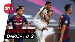 Serangan Ganas Bayern Robek Gawang Barcelona 8 Gol