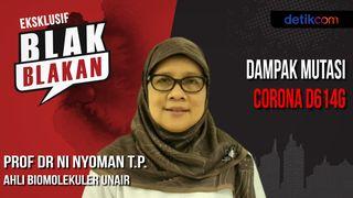 Blak-blakan Mutasi Virus Corona Khas Surabaya